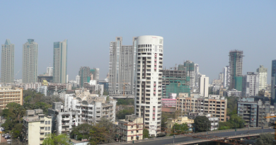The changing skyline of mumbai