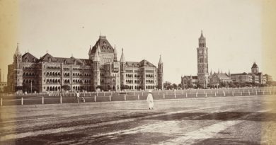 old mumbai - mumbai university and rajabai tower