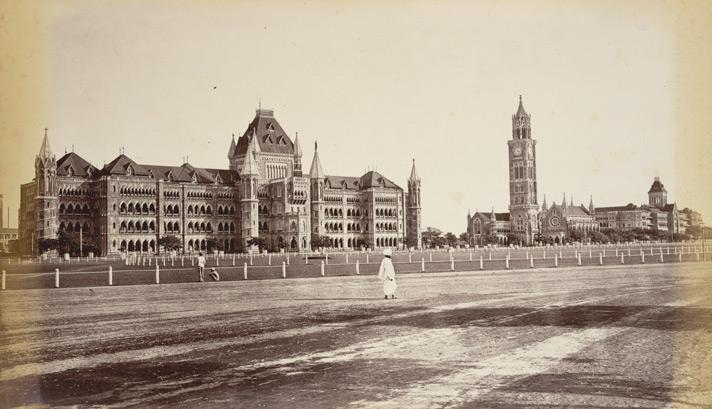 old mumbai - mumbai university and rajabai tower